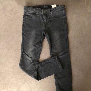 Girls skinny black Joe's Jeans pants